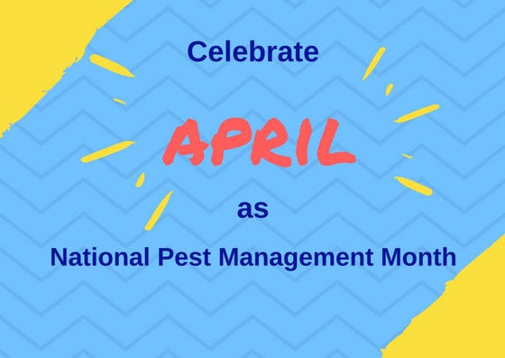 Celebrate April as National Pest Management Month image