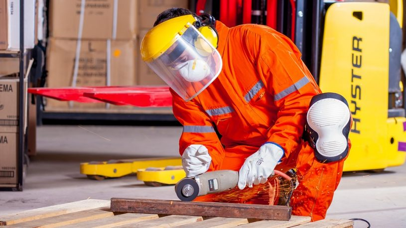 a worker in a manufacture company
