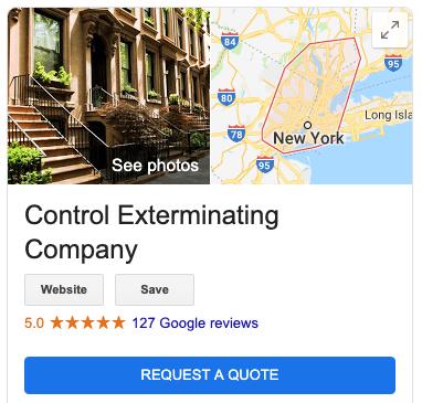 Exterminator Nassau County